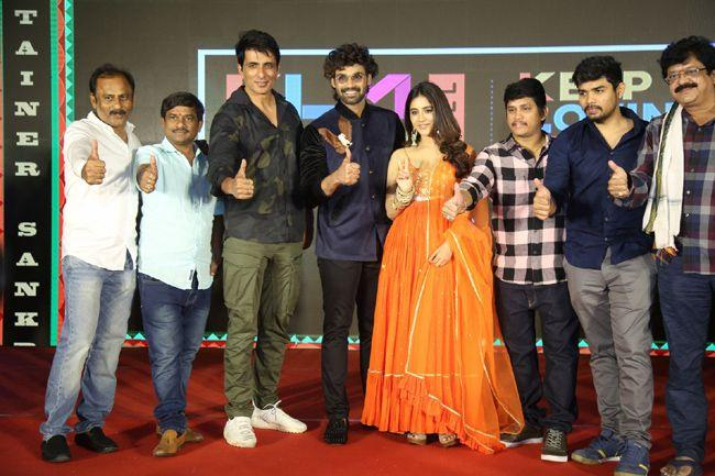Alludu adhurs Movie success Meet Last Set