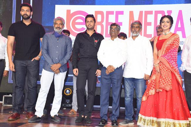 Nithin Check Pre Release Event Photos