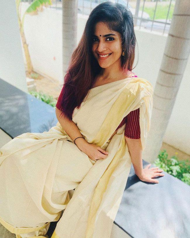 Megha Akash Latest Snaps