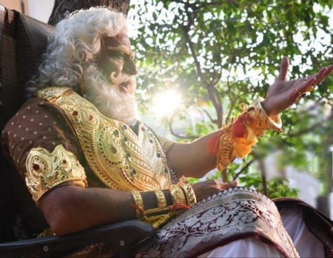 Nandamuri Balakrishna as Bheeshma from NTR Kathanayakudu
