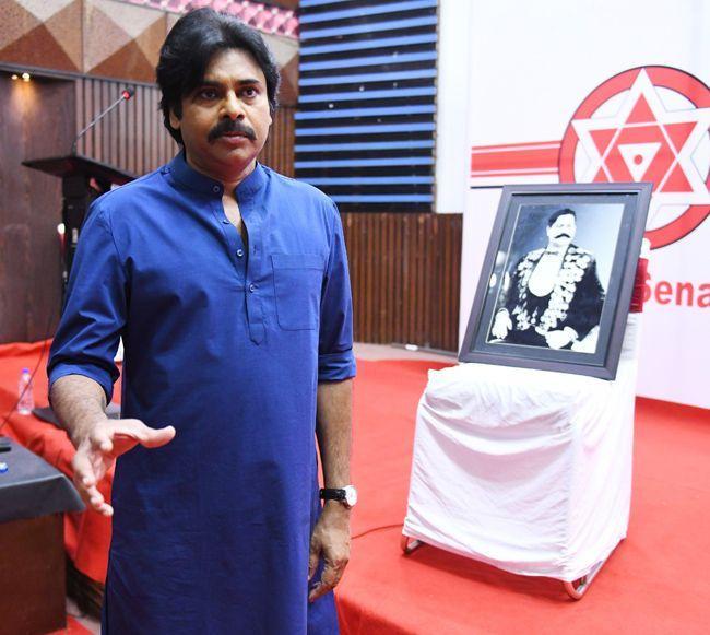 pawan kalyan Meeting Photos