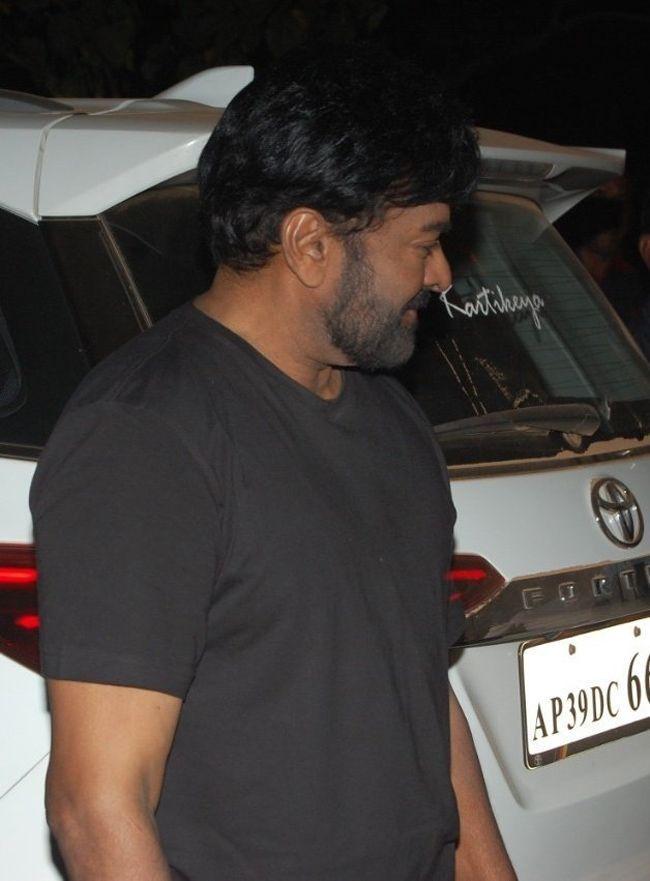 Acharya Movie Working Stills
