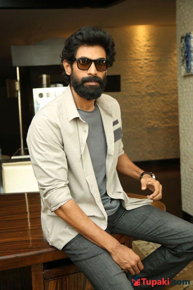 Rana Interview Pics