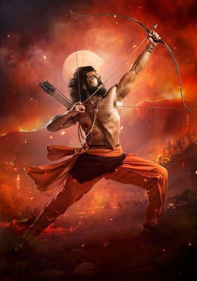 Mega Power Star Ram Charan as fiercest Alluri Sita Ramaraju
