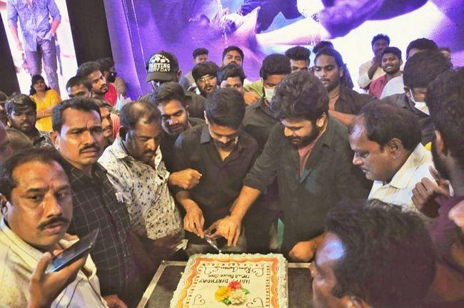 Sharwanand At Ram Charan Birthday Celebrations