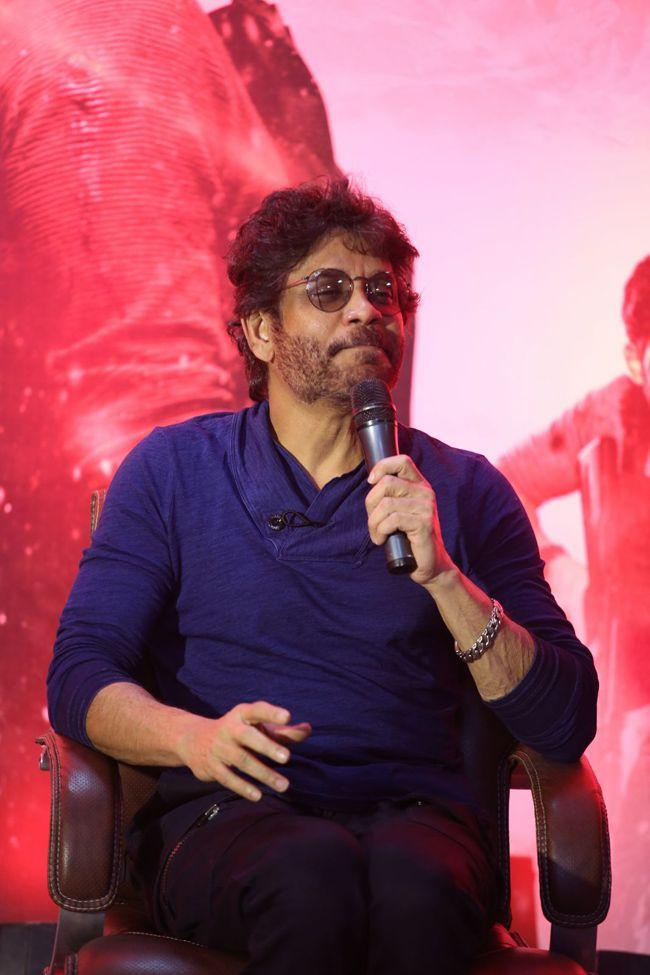 Nagarjuna Interview Photos