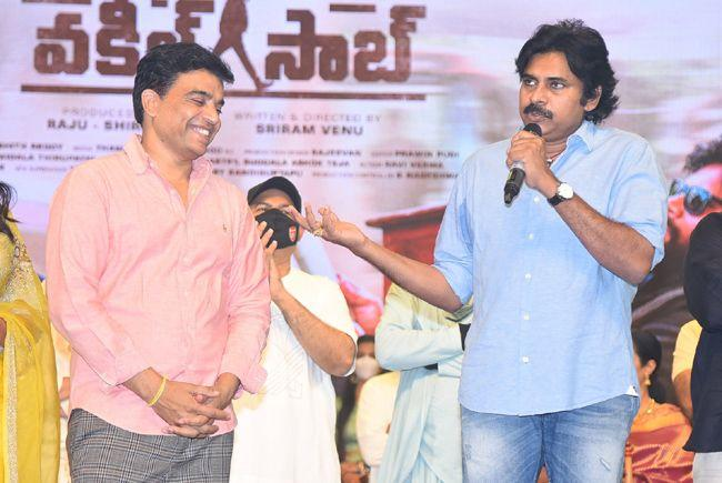 Vakeel Saab Movie Pre Release Event set 6