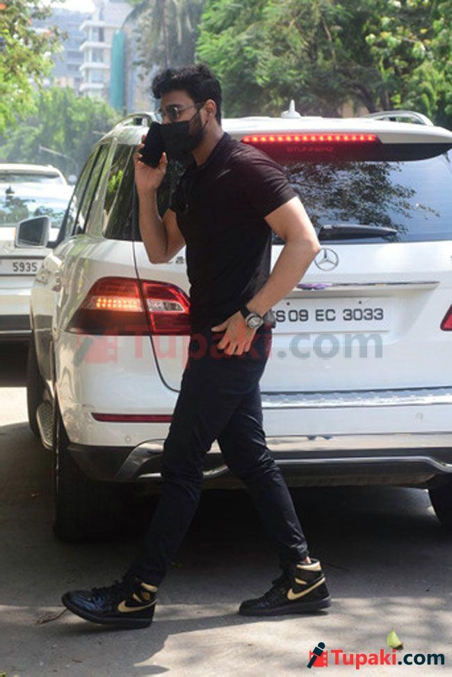 Sai Srinivas Bellamkonda spotted at Bandra