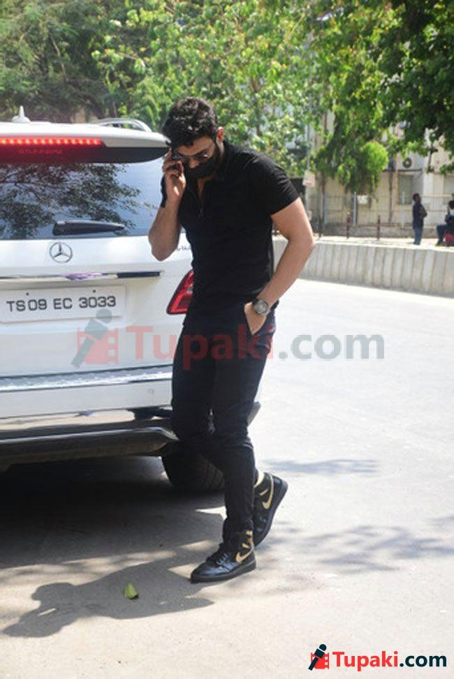 Sai Srinivas Bellamkonda spotted at Bandra