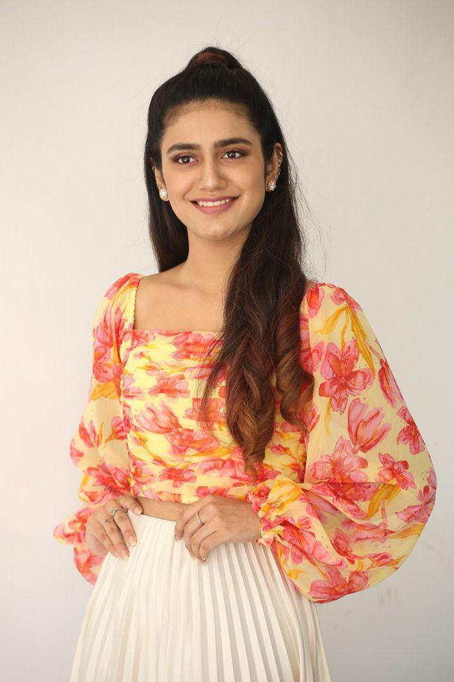 Priya Prakash Varrier Photoshoot Pictures