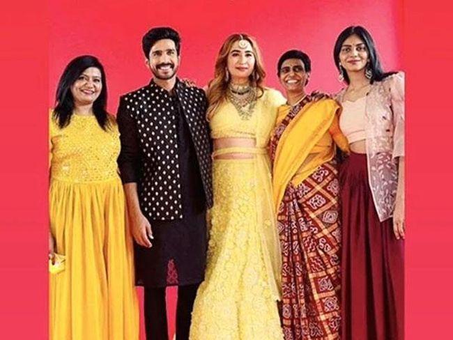 Vishnu Vishal Gutta Jwala Mehendi Ceremony Photos