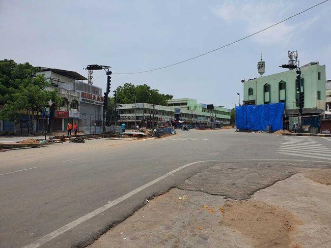 Hyderabad Under Lockdown Photos