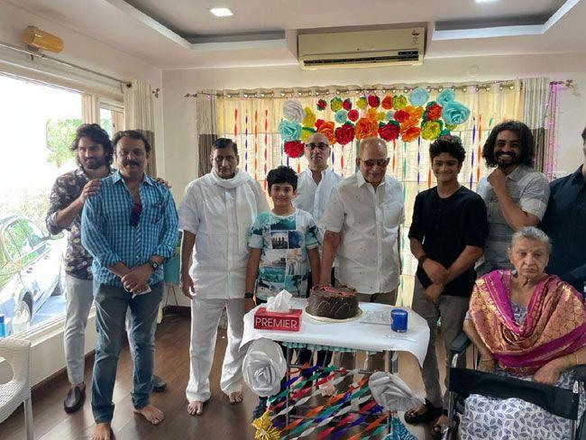 Superstar Krishna is celebrating his birthday with his family