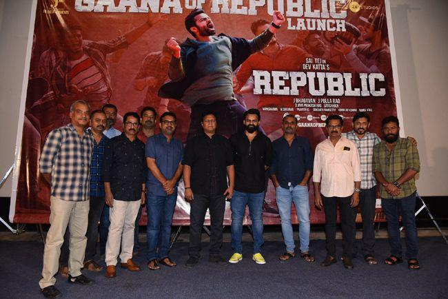Republic Movie Gaana Of Republic Song Launch Event