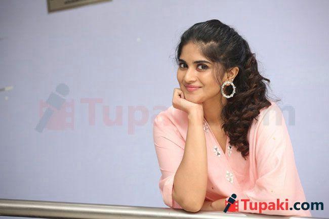 Megha Akash At Dear Megha Teaser Launch