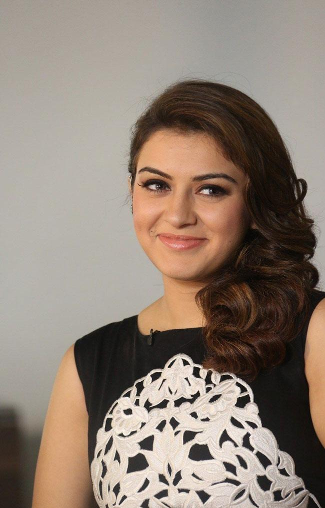 Hansika posed For photos In A Different Outfits