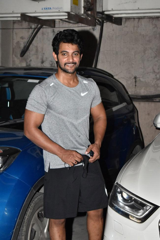 Aadi And Karthikeya is Fit And Handsome Looks At The Gym