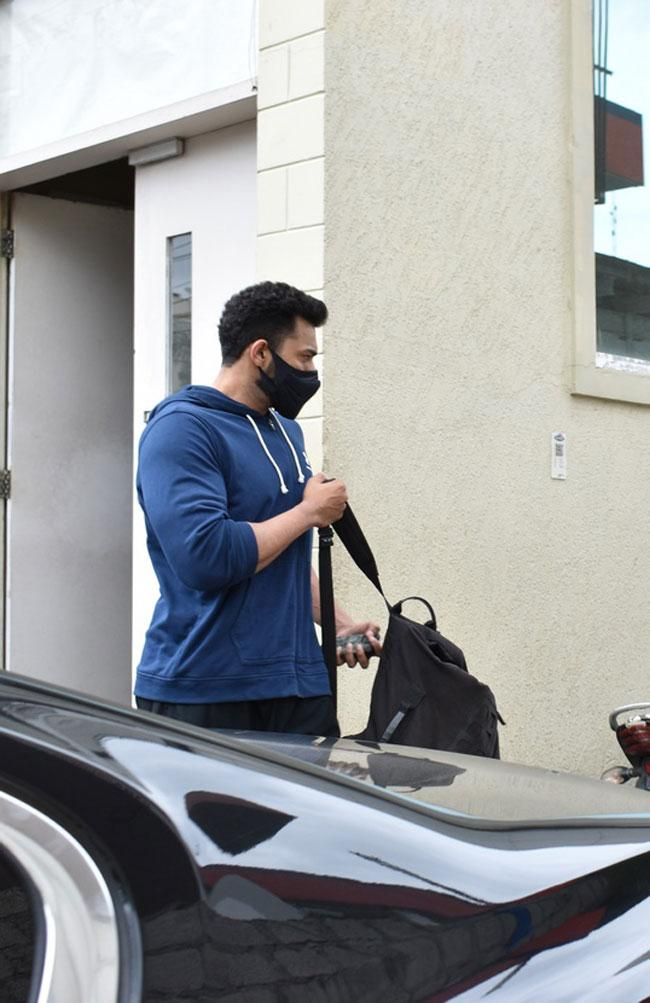Navdeep and Varun tej After The Gym Session