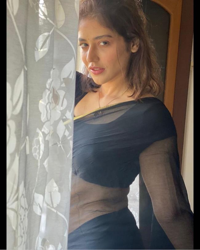 Priyanka Jawalkar in saree Pics