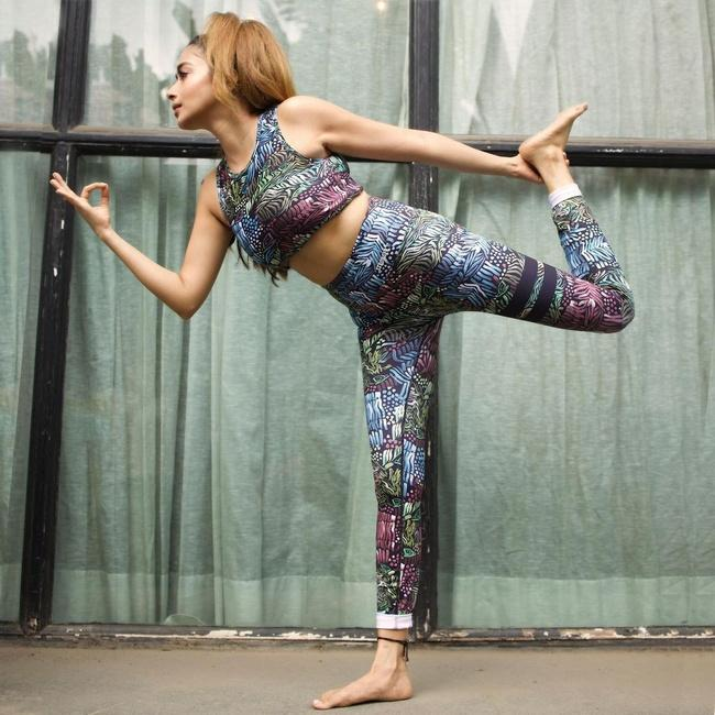 Tina Datta is Staggering Yoga Poses