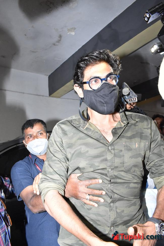 Actor Rana Daggubati at ED office in Hyderabad