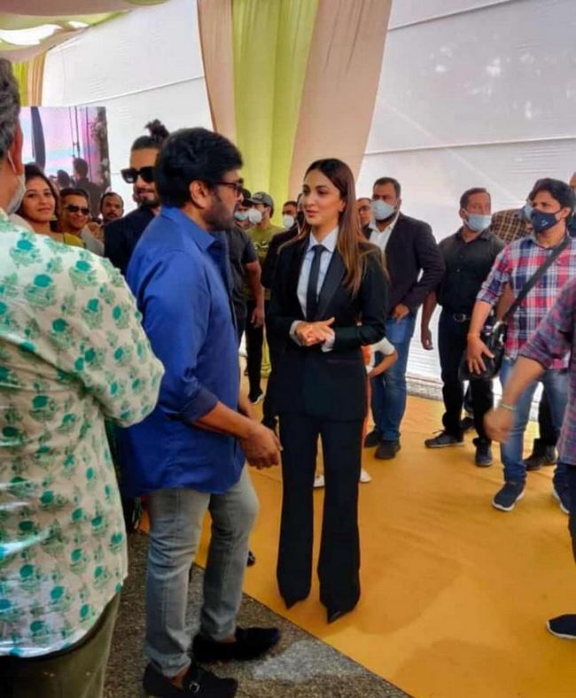 Ram Charan Shankar movie grand opening photos