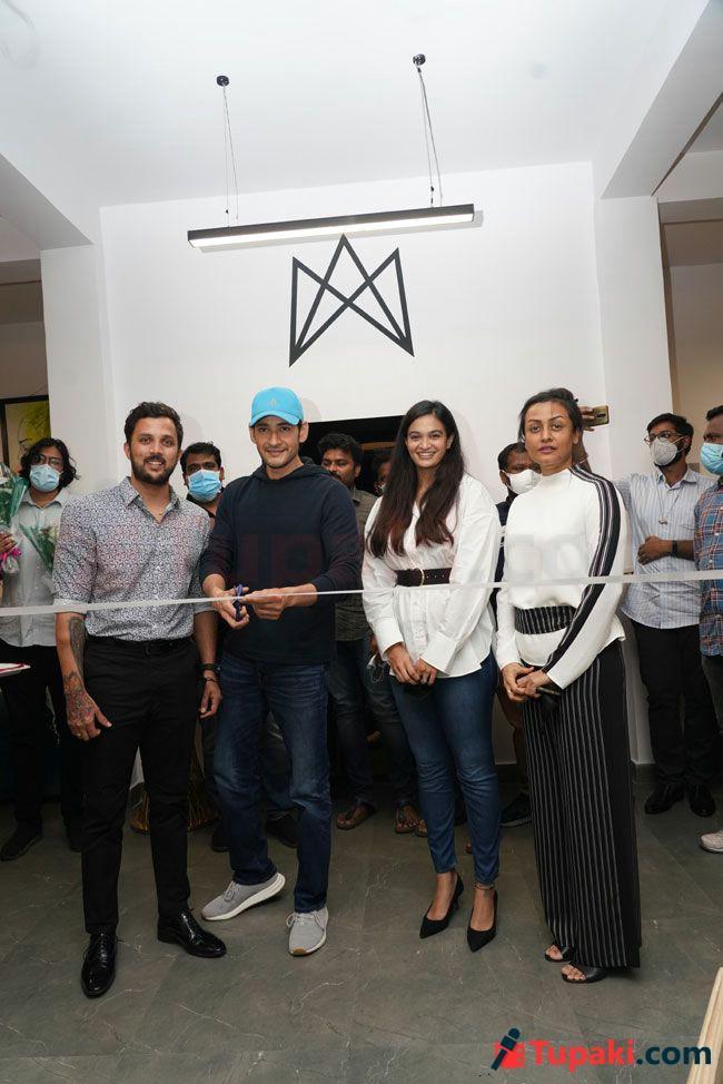 Mahesh Babu and Namrata At Myo Moment lifestyle club Launch