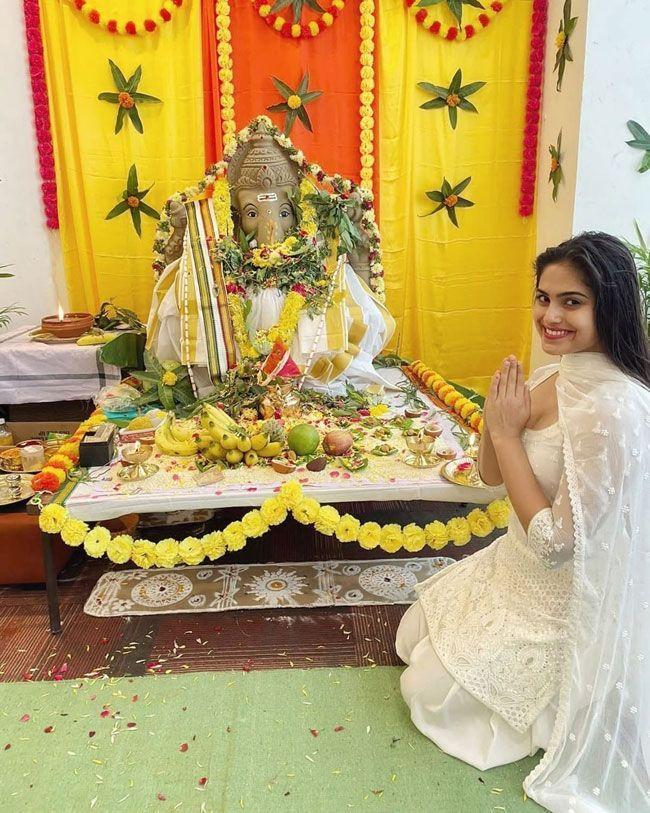 Celebs Celebrates vinayaka chavithi
