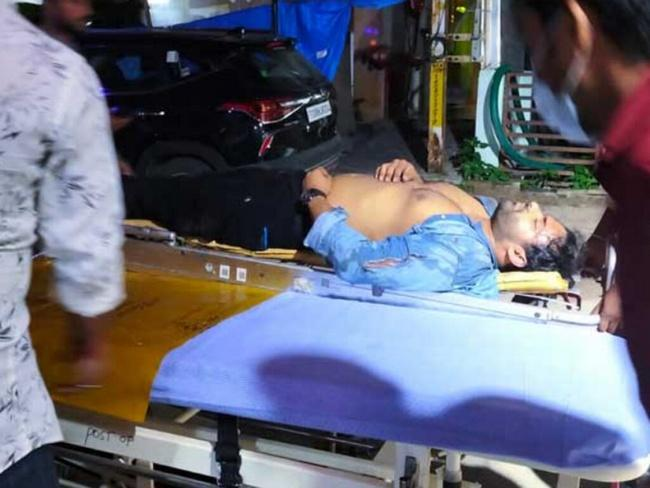 Sai Dharam Tej Accident Spot Photos Near Cable Bridge