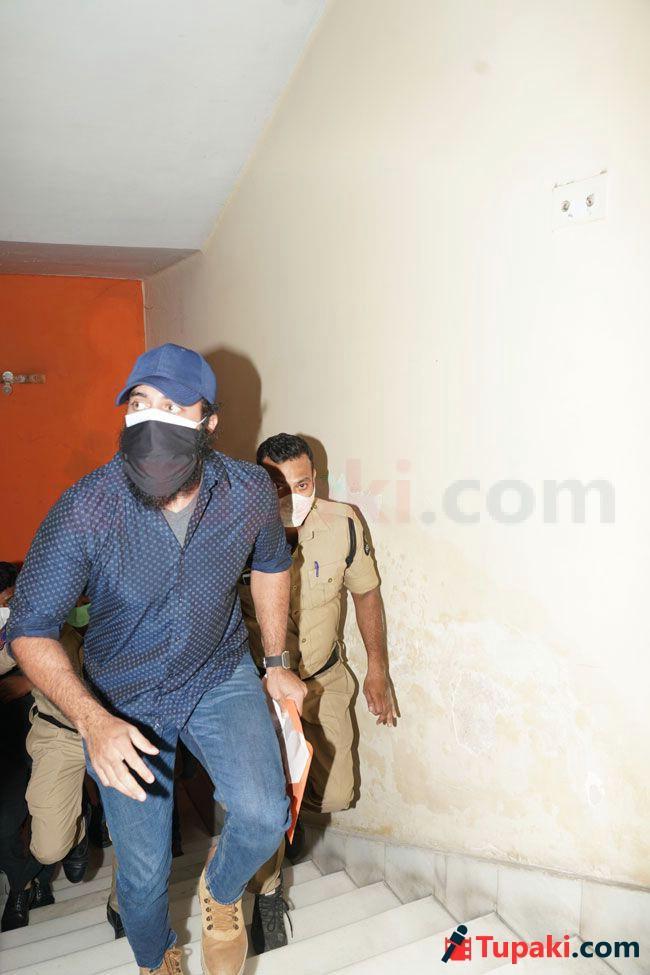 Actor Navdeep At ED office Hyderabad