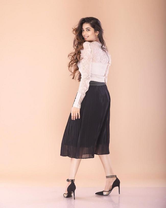Suryavanshi is Enchanting Looks in White Dress