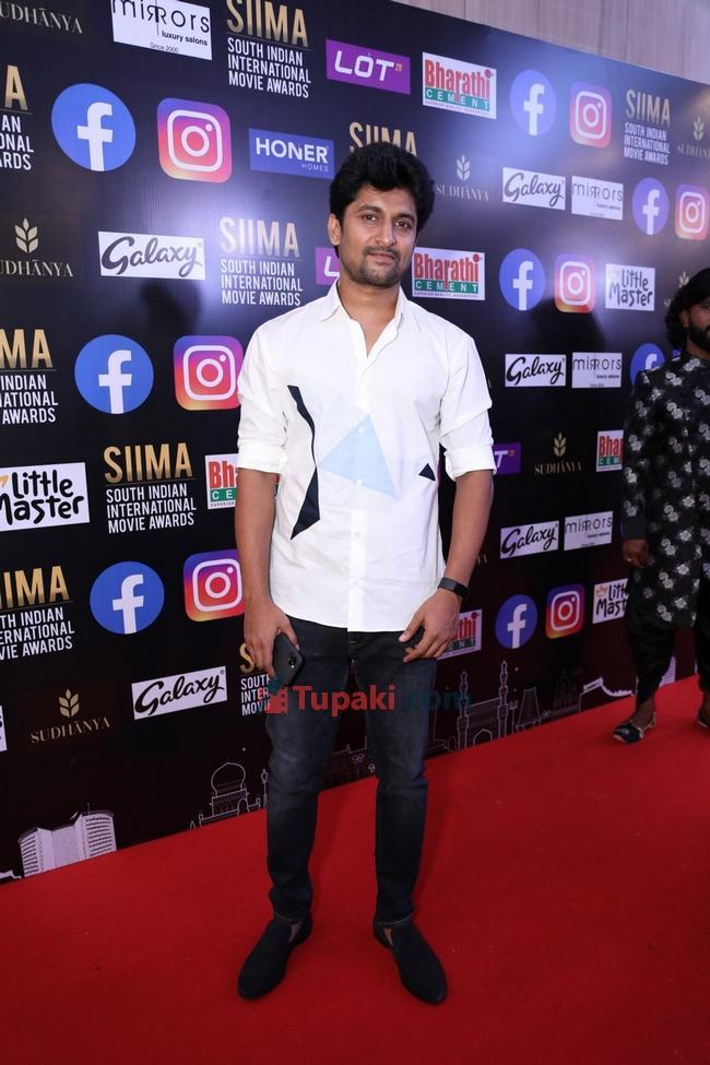 Nani at SIIMA Awards 2021 Awards Red Carpet