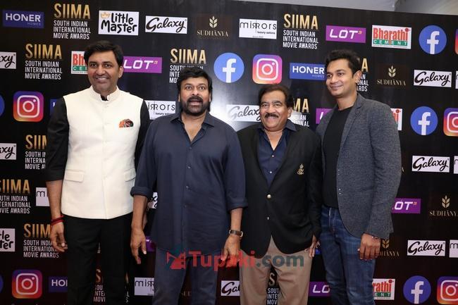 Mega Star Chiranjeevi at SIIMA Awards 2021 Awards Red Carpet