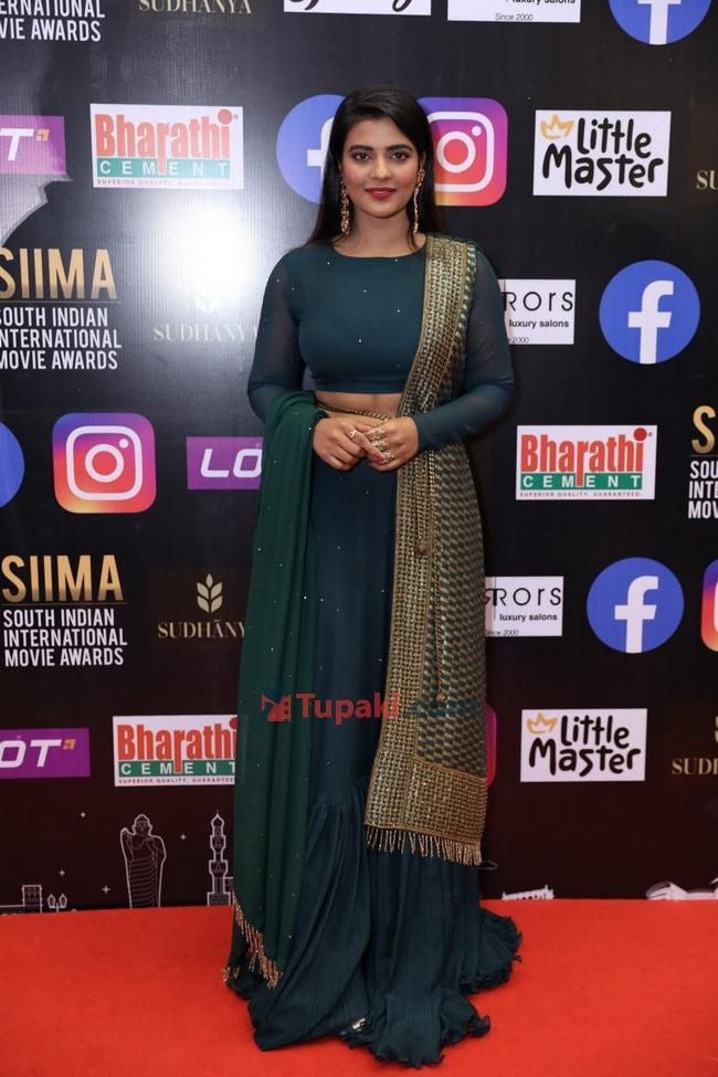 Aishwarya Rajesh at SIIMA Awards 2021 Awards Red Carpet