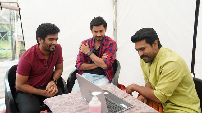 Anubhavinchu Raja Movie Teaser Launch By Ram Charan