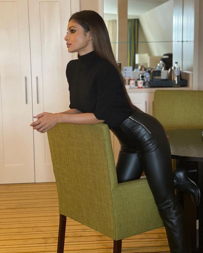 Mouni Roy LatestPics in Black Dress