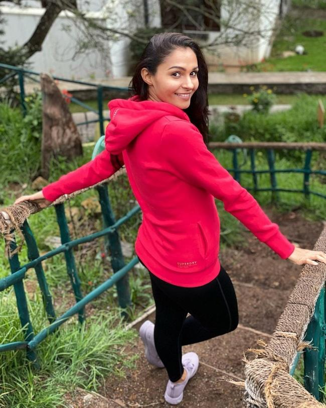 Andrea Jeremiah New Images