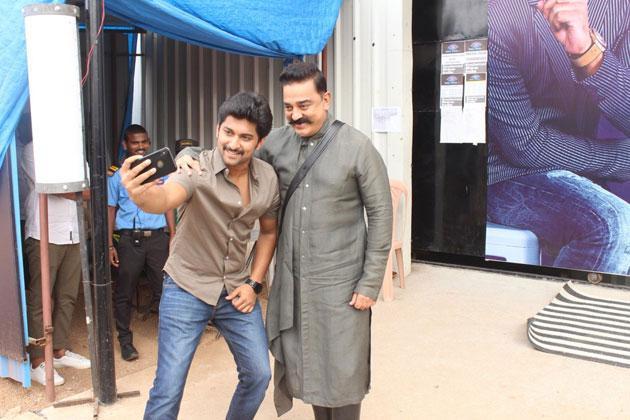 Nani Fan Moment with Kamal Haasan Photos