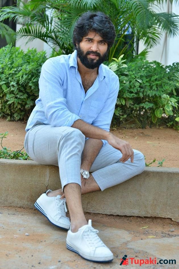 Vijay Devarakonda Nota Interview Photos