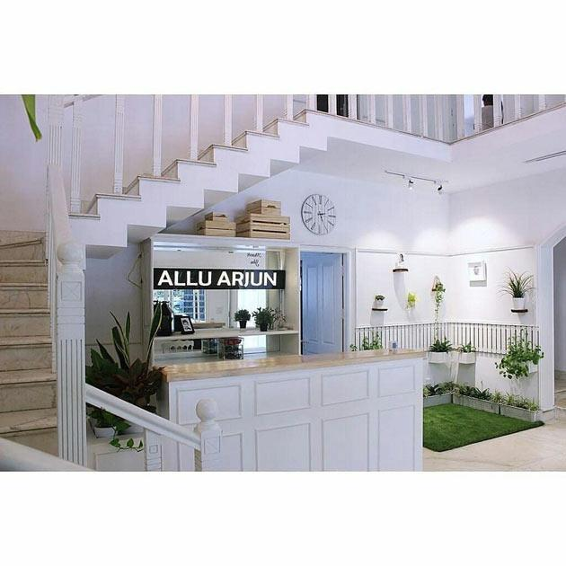 Allu Arjun New Office Pics