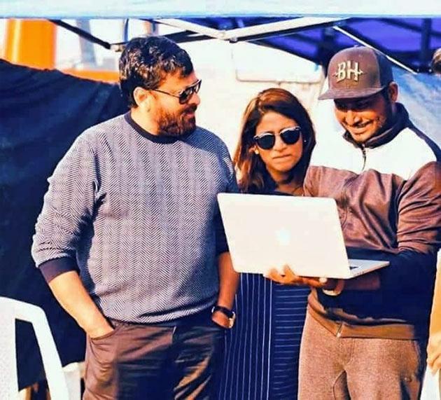 Chiranjeevi Sye Raa Movie Onlocation Stills