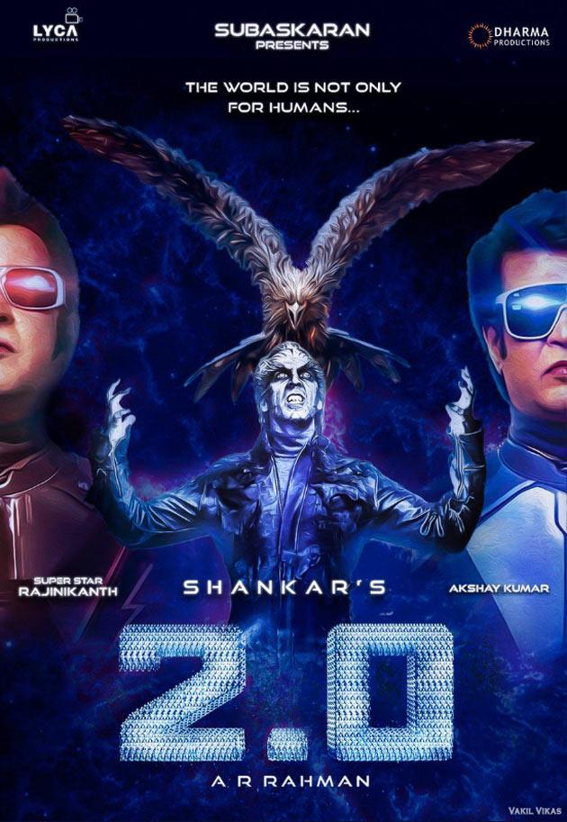 Robo 2.0 Movie Posters