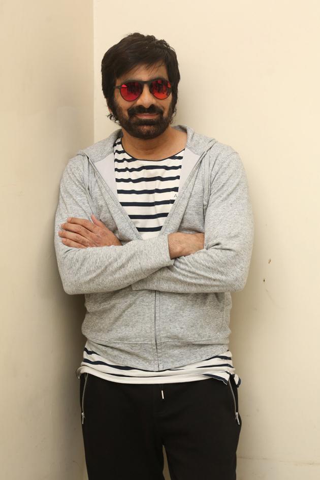 Ravi Teja Interview Photos