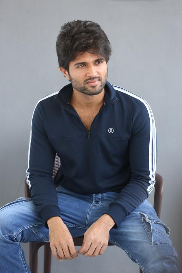 Vijay Deverakonda Interview Photos