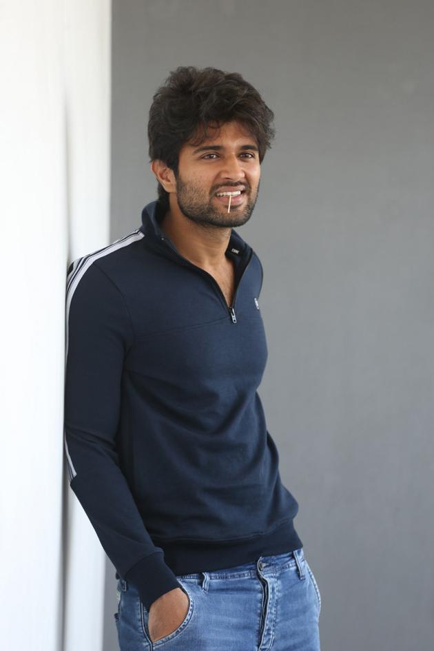 Vijay Deverakonda Interview Photos