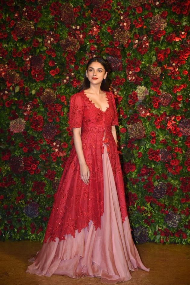 Deepika And Ranveer Wedding Reception Photos