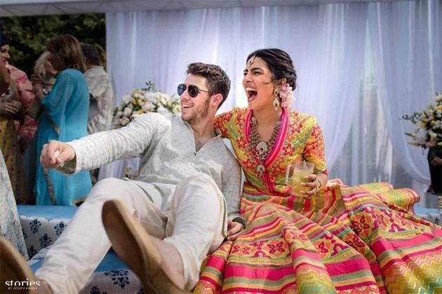 Priyanka Chopra and Nick Jonas Mehendi Ceremony Photos