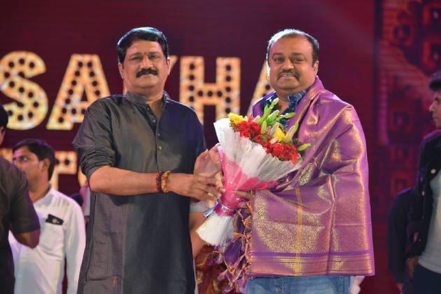 Venkatesh And Varun Tej F2 Audio Launch Photos