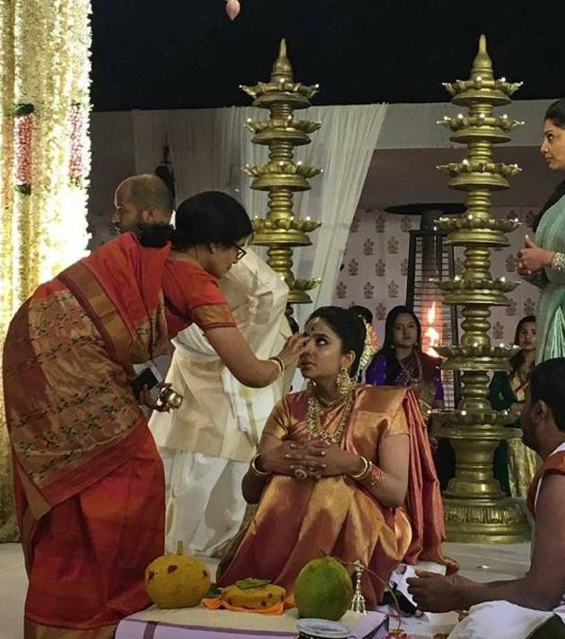 Rajamouli Son SS Karthikeya Wedding Photos