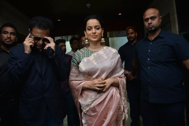 Manikarnika Movie Trailer Launch Photos